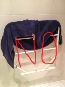 Bad towel