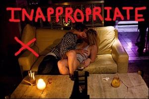 innapropriate at pub