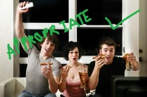 eatingpizza